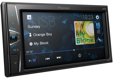 PIONEER Проигрыватель DMH-G120 CD/MP3, USB, Android (2DIN)