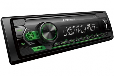 PIONEER Проигрыватель MVH-S120UIG MP3, USB, IPod, Android, AUX