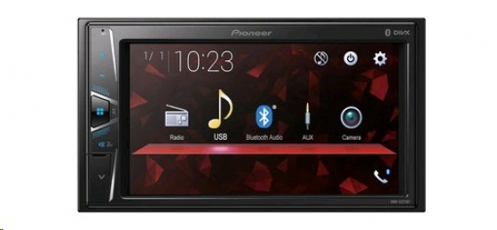PIONEER Проигрыватель AVH-G220BT DVD/CD/MP3, USB, AUX Bluetooth (2DIN)